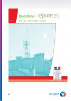 Dossier Information sur l'implantation antenne Bouygues pages 27 a 33