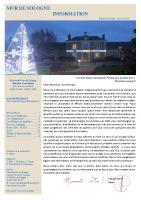 Bulletin Municipal Janvier 2021