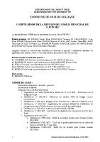 CR Conseil Municipal du 11 juin 2021