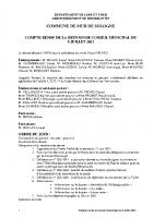 CR Conseil Municipal du 9 juillet 2021